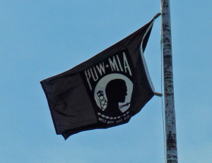 POW-MIA flag atop the state Capitol building (PHOTO: Jackie Johnson)