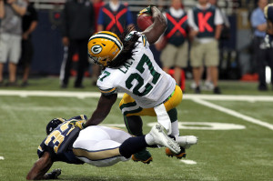 Eddie Lacy - UPI/Robert Cornforth