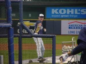 Brewers manager Ron Roenicke