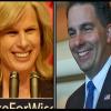 Democratic gubernatorial candidate Mary Burke and GOP Governor Scott Walker (PHOTO: Jackie Johnson)