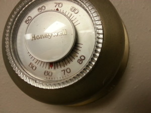Thermostat (PHOTO: Jackie Johnson)