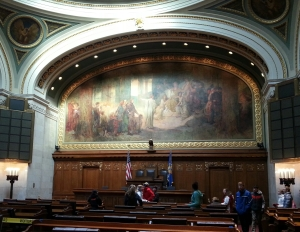 Wisconsin State Assembly Chamber (PHOTO: Jackie Johnson)