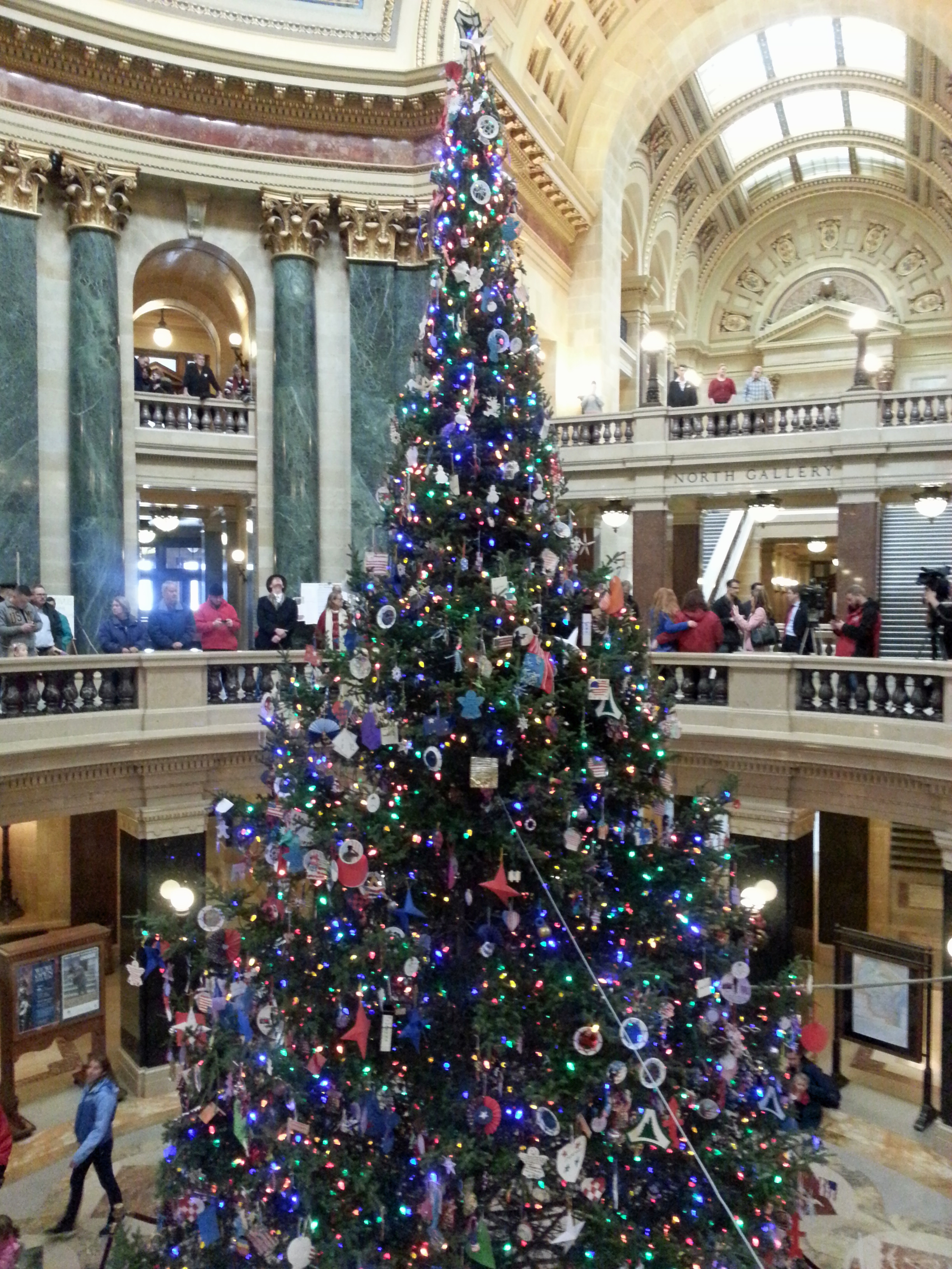 Capitol Christmas Tree.Wisconsin Capitol Christmas Tree To Come From Rhinelander