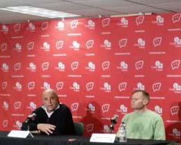Barry Alvarez press conference
