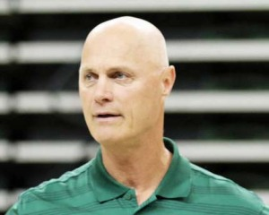 Green Bay coach Kevin Borseth