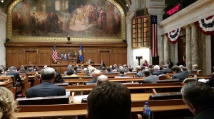 Walker delivers state of the state address in Assembly chambers (PHOTO: Jackie Johnson)