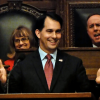 Governor Scott Walker delivers his fifth state of the state address. 1/13/15 (PHOTO: Jackie Johnson)