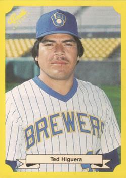 Teddy Higuera trading card