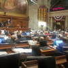 Lawmakers debate right-to-work in the Assembly. (Photo: Andrew Beckett)
