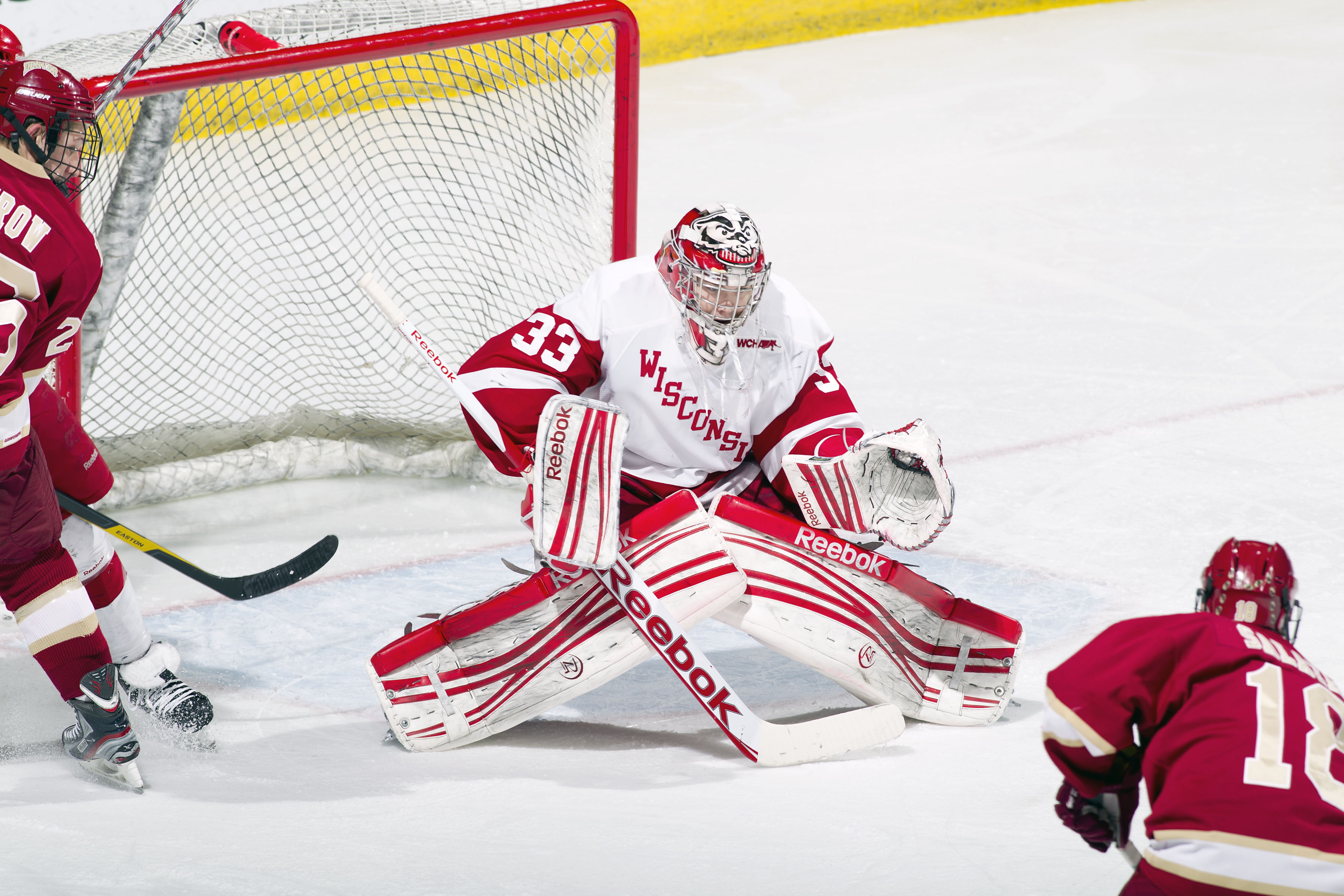Hockey badgers swept by ohio state head to big ten tournament