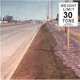 Spring weight restrictions (PHOTO: DOT)
