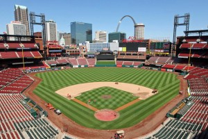 Busch Stadium - Photo: UPI/Bill Greenblatt