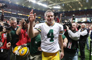 QB Brett Favre - Photo: UPI/Bill Greenblatt