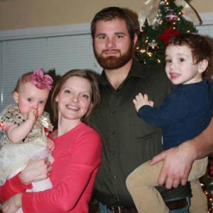 Derek Stempa and family.