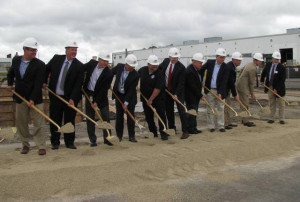 Groundbreaking ceremony at Mercury Marine in Fond du Lac. (Photo: Bob Nelson)