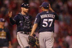 Francisco Rodriguez: Photo by Bill Greenblatt/UPI