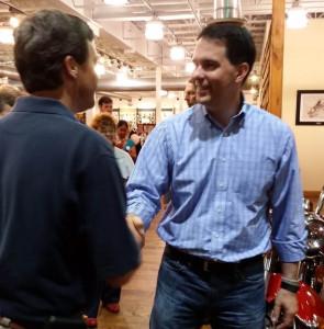 Gov. Scott Walker during a campaign stop in South Carolina (Photo: SCRN)