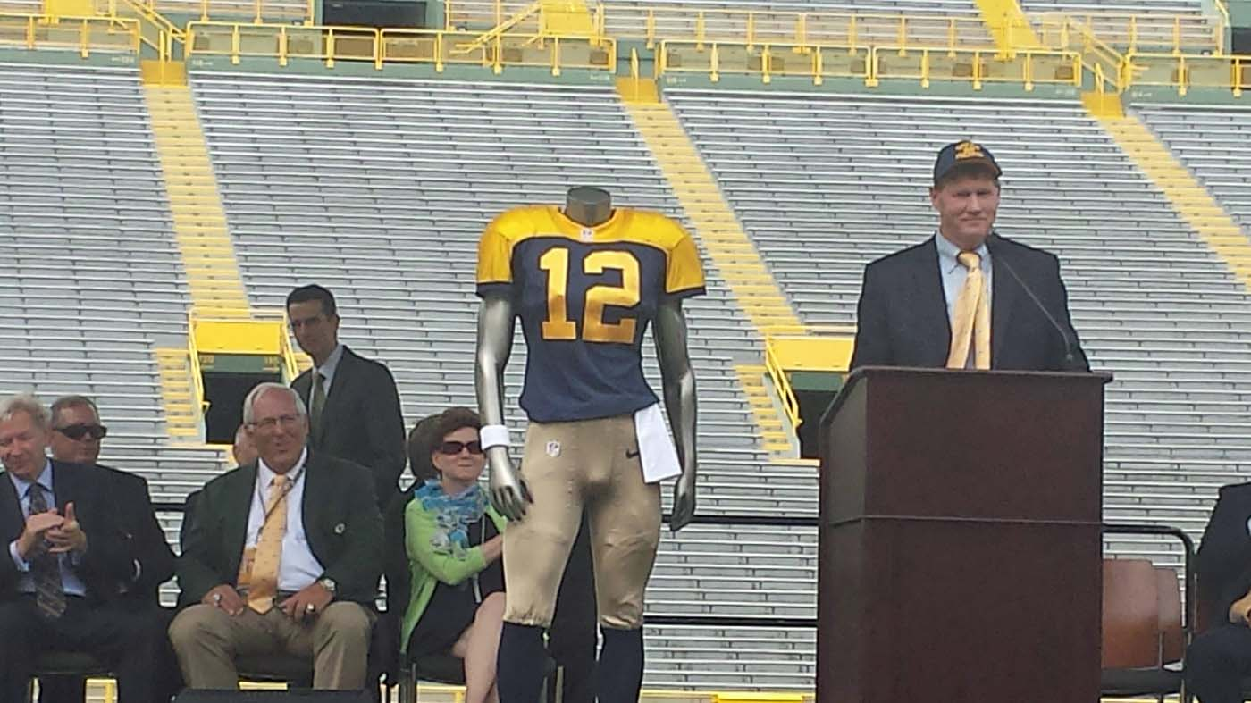Packers unveil new throwback jerseys - Wisconsin Radio Network 040c4ff4a