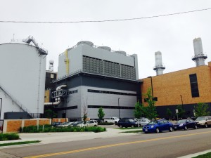 Madison's Charter Street plant burns natural gas