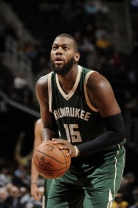 Greg Monroe:  Photo Courtesy of the Milwaukee Bucks