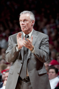Wisconsin Coach Bo Ryan: (Photo by David Stluka)