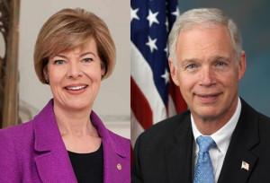 Sen. Tammy Baldwin (D-WI), Sen. Ron Johnson (R-WI)