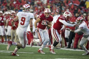 Badger WR Alex Erickson (86) (Photo by David Stluka)