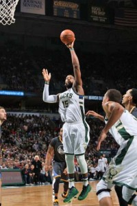 Greg Monroe - Photo: Courtesy of the Milwaukee Bucks.