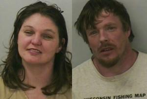 Amanda Eggert and Jason Roth (Photo: Polk County Sheriff's Office)