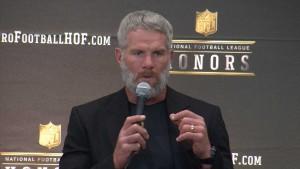 Brett Favre is a 1st ballot Hall of Famer