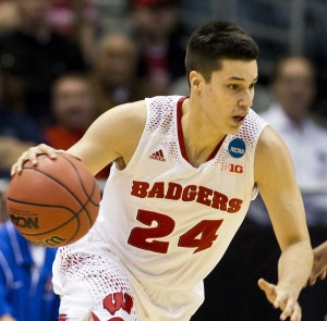 Bronson Koenig (Photo by David Stluka)