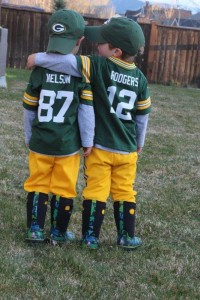 This photo submitted by Staci Abel of Pray, Montana, won the 2016 Packers Ticket Takeover Contest. (Photo: Green Bay Packers)