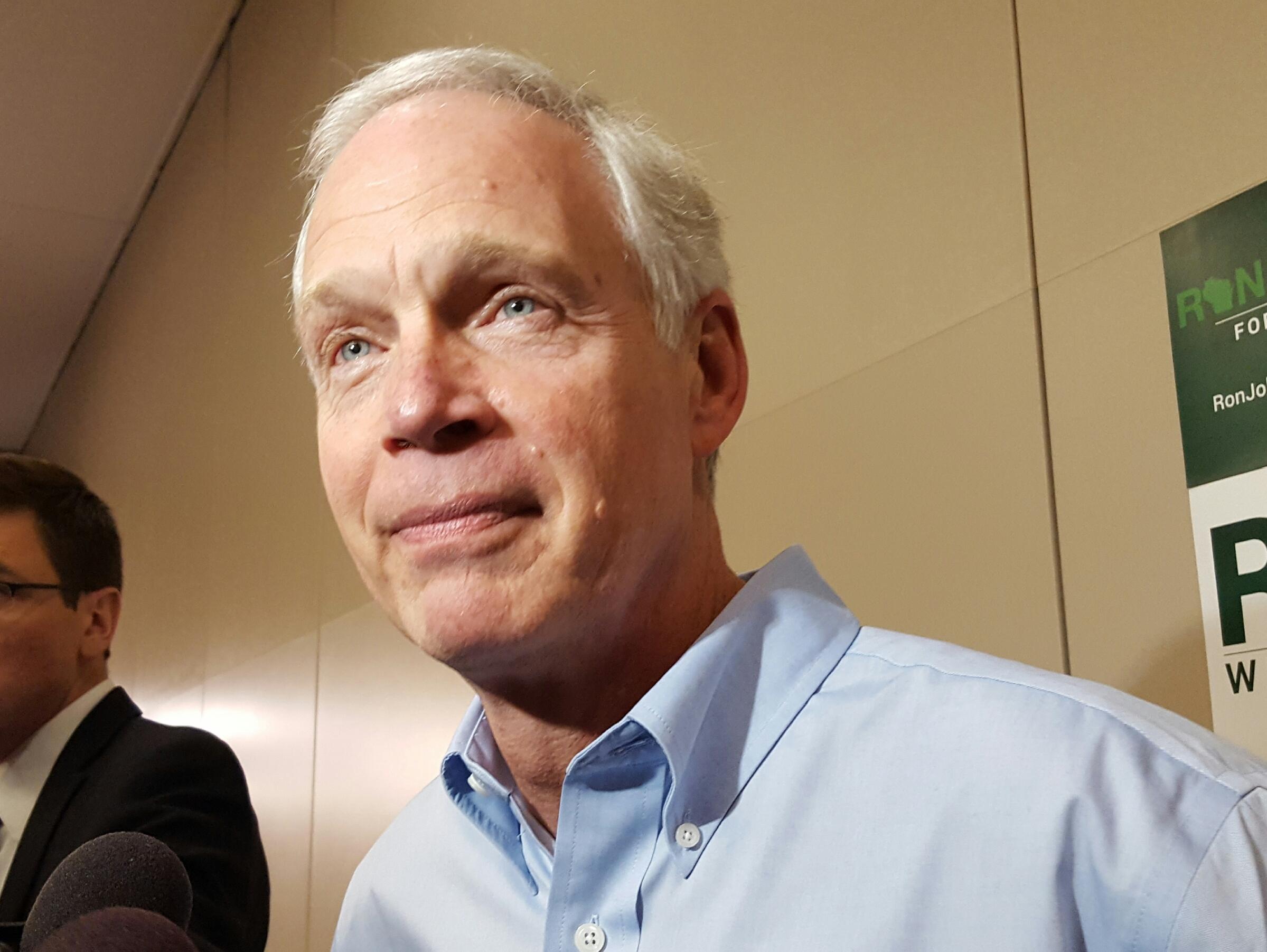 Senator Johnson draws rebuke from documentary filmmaker