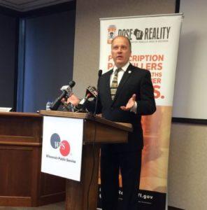 Attorney General Brad Schimel in Green Bay (Photo: WTAQ)