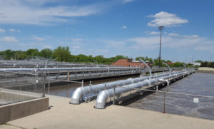 Madison's wastewater treatment plant (Photo: Andrew Beckett)