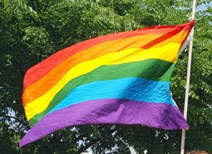 Pride flag (Photo: Andrew Beckett)