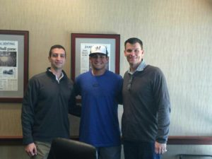Payton Henry signs with the Brewers: Photo Courtesy of Henry's Twitter page