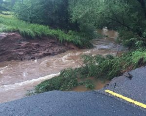 Flooding has washed out roads across northern Wisconsin (Photo: WI Emergency Management)