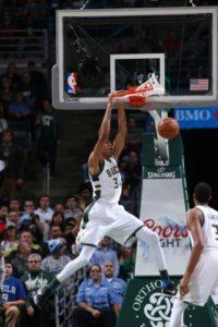 Giannis Antetokounmpo - Photo: Courtesy of the Milwaukee Bucks