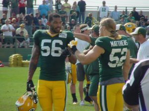 Julius Peppers & Clay Matthews