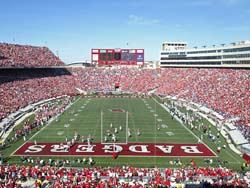 The Badgers host Akron at Camp Randall Stadium today! (Photo by David Stluka)