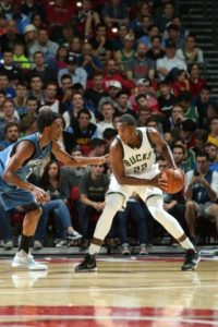Khris Middleton - Photo Courtesy of the Milwaukee Bucks.
