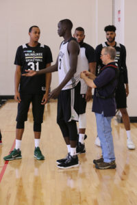 Thon Maker - Photo courtesy of the Milwaukee Bucks
