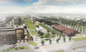 Titletown District near Lambeau Field (Photo from: Green Bay Packers)