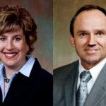 Sen. Jennifer Shilling (left), Dan Kapanke (right)