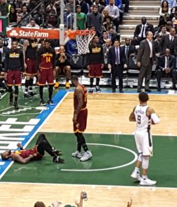 Cavaliers had no answer for the Bucks!