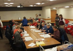 Workers recount ballots in Dane County (Photo: Andrew Beckett)