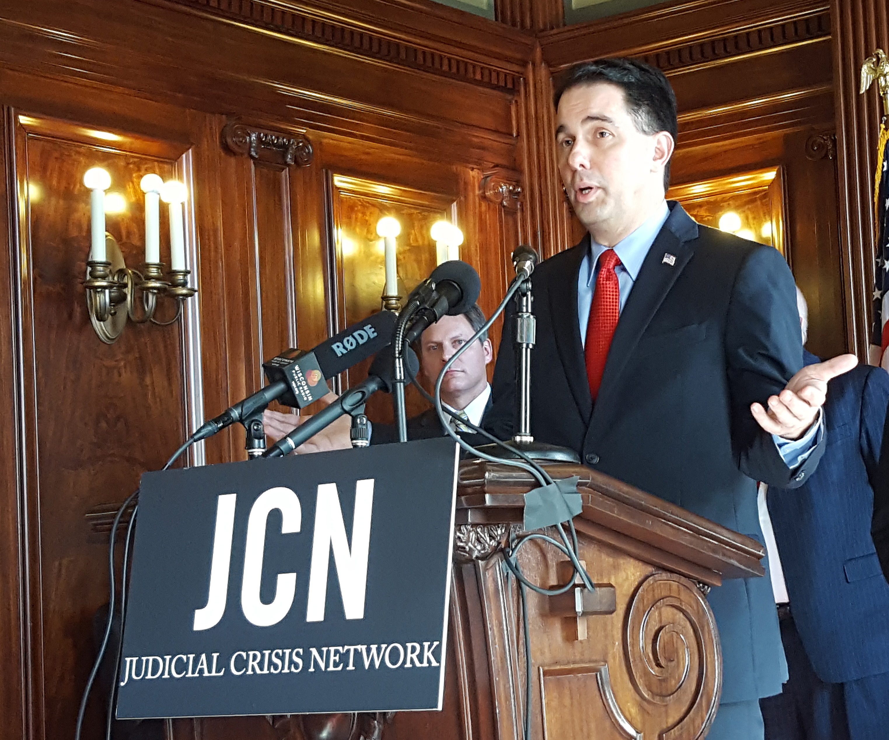 Walker, Schimel call for vote on Trump's Supreme Court nominee