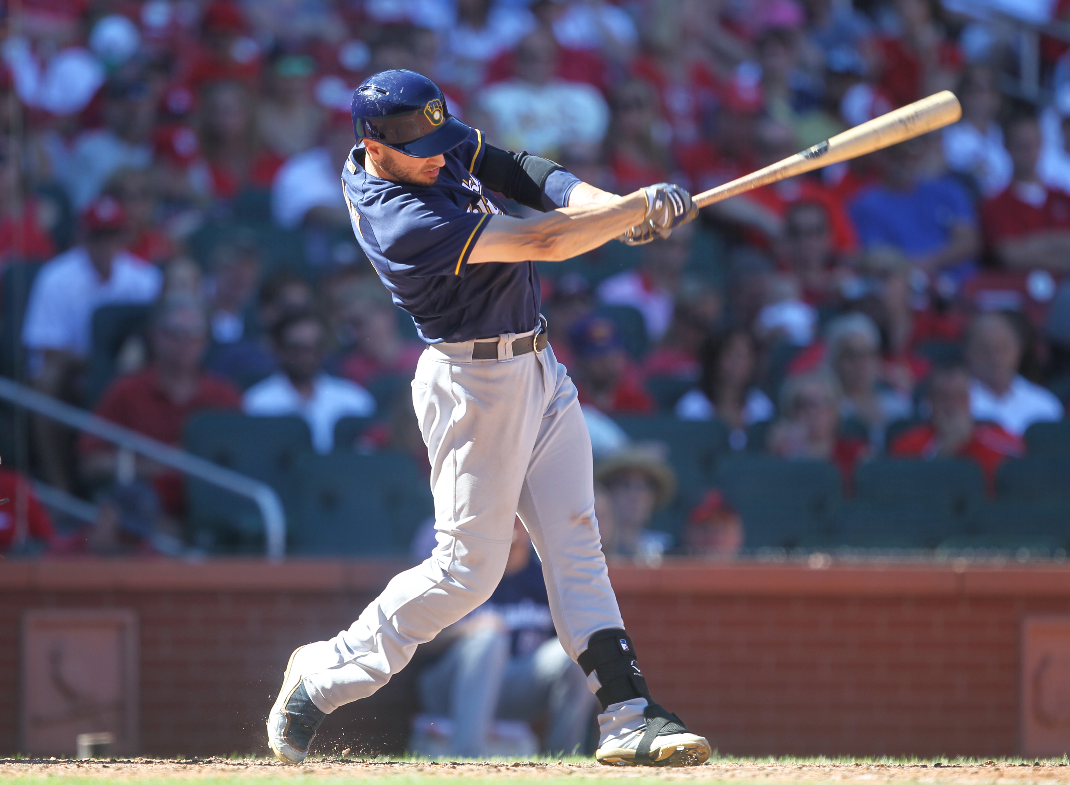 Braun headed back to the DL (AUDIO)