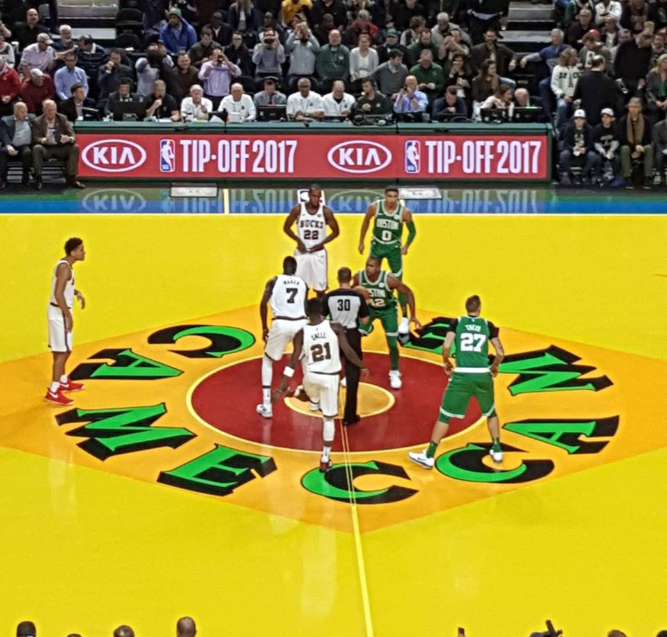 """4a45a42531f The Boston Celtics had their way against the Milwaukee Bucks in the 70 s  and 80 s and the process repeated itself again last night in the """"Return to  the ..."""